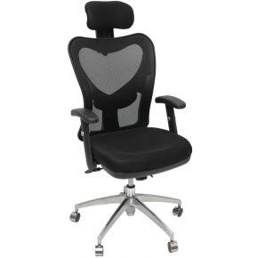 Velco Καρέκλα Γραφείου Διευθυντική 66-22419 Μαύρη