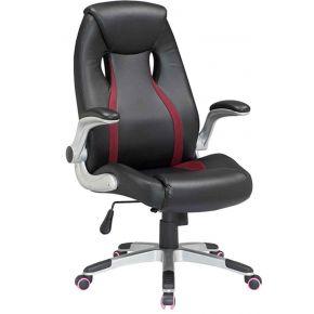 Velco Καρέκλα Γραφείου Διευθυντική 66-23560 Μαύρο - Μπορντό