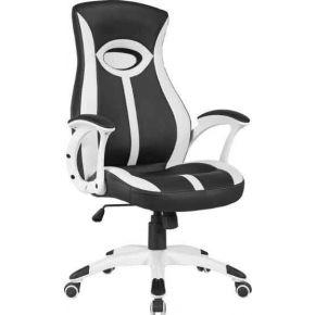 Velco Καρέκλα Γραφείου Διευθυντική 66-23584 Λευκό - Μαύρο