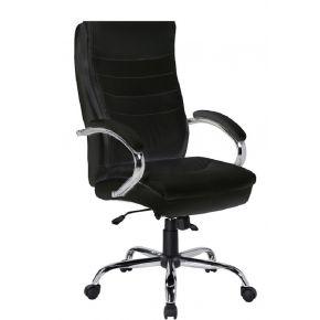 Velco Καρέκλα Γραφείου Διευθυντική 66-31527 Μαύρη