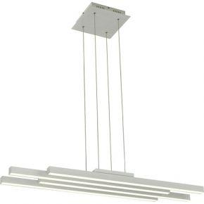 Viokef LED Κρεμαστό Φωτιστικό Ράγα 80W Τετράφωτο Track