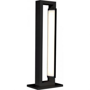 Viokef Φωτιστικό Πορτατίφ Tiffany LED 17W Μαύρο Μεταλλικό