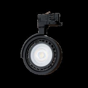 Viokef Φωτιστικό Spot Track Οροφής Flis LED Max 35W GU10 R111 Μαύρο Μεταλλικό
