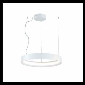 Viokef Κρεμαστό Φωτιστικό Οροφής Verdi LED 70W Λευκό Μεταλλικό