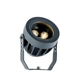 Viokef Προβολέας Εξωτερικού Χώρου Ermis LED 3W IP66 Ανθρακί Αλουμίνιο