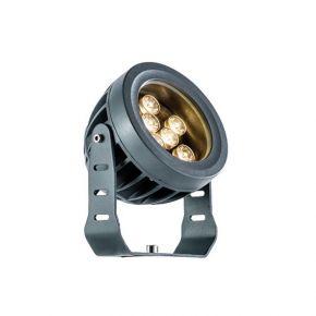 Viokef Προβολέας Εξωτερικού Χώρου LED 9W IP66 Ανθρακί Αλουμίνιο