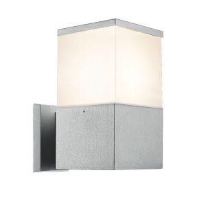 Viokef Spot Απλίκα Εξωτερικού Χώρου Corfu Max 20W CFL/LED E27 IP44 Αλουμίνιο Σκιάδιο PC