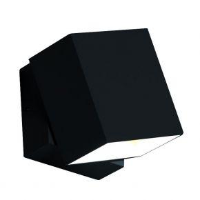Viokef Spot Απλίκα Εξωτερικού Χώρου Adjustable Quadro LED 6W Μαύρο Αλουμίνιο