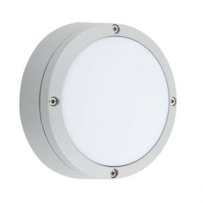 Viokef Spot Απλίκα Εξωτερικού Χώρου Mare CFL/LED Max 11W GX53 IP44 Γκρί Αλουμίνιο Σκιάδιο PC