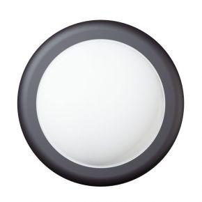 Viokef Spot Απλίκα Εξωτερικού Χώρου Round Minos LED 4W IP54 Ανθρακί Πλαστικό