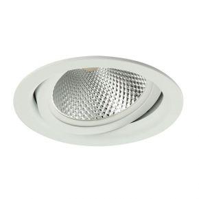 Viokef Χωνευτό Φωτιστικό Spot Οροφής Clio Max 100W E27 PAR30 Λευκό Αλουμίνιο