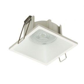 Viokef Χωνευτό Φωτιστικό Spot Οροφής Fino Max 35W GU10 Λευκό Μεταλλικό