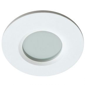 Viokef Χωνευτό Φωτιστικό Spot Οροφής Round Viki Max 50W 230V/12V GU10/GU5,3 Λευκό