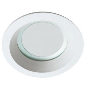 Viokef Χωνευτό Φωτιστικό Spot Οροφής Round Yan Max 50W 230V/12V GU10/GU5,3 Λευκό