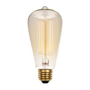 VK Λάμπα Διακοσμητική 40W E27 ST64 Dimmable