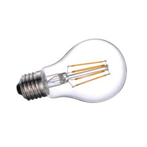 VK Λάμπα LED Filament 8W E27 Clear Dimmable