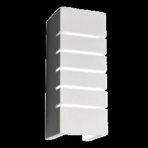 VK Φωτιστικό Τοίχου 40W VK09011 Γύψινο E14 Λευκό