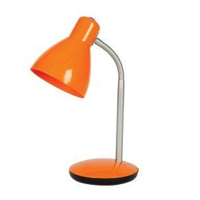 VK Φωτιστικό Γραφείου Πλαστικό Πορτοκαλί E27