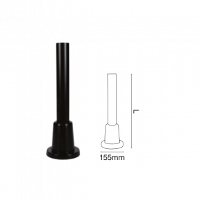 VK Κολωνάκι Πλαστικό για Ακρυλικές μπάλες και βάση 50cm