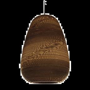 VK Κρεμαστό Φωτιστικό 11W VK03080 E27 Ø30cm Χάρτινο Υφασμάτινο Καλώδιο