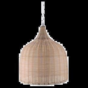 VK Κρεμαστό Φωτιστικό 60W VK03123PE E27 Ø55cm Bamboo