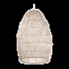 VK Κρεμαστό Φωτιστικό 60W VK03124PE E27 Ø70cm Bamboo
