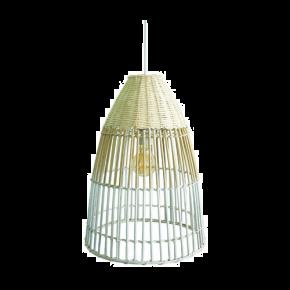 VK Κρεμαστό Φωτιστικό 60W VK03125PE E27 Ø30cm Bamboo
