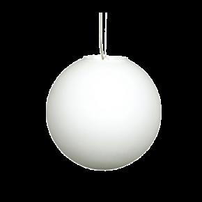 VK Κρεμαστό Φωτιστικό 60W VK03129 E27 Ø30cm Milky Glass