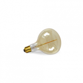 VK Λάμπα Διακοσμητική 60W E27 G160 Amber Dimmable