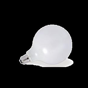VK Λάμπα LED Filament 7W E27 G125 IP20 Globo Γαλακτερή