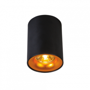 VK LED Eπίτοιχο Spot 35W Αλουμινίου GU10 PAR16 IP20 Black
