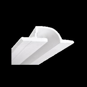 VK LED Φωτιστικό 14.4W VK09034 Γύψινο Χωνευτό 24V Λευκό