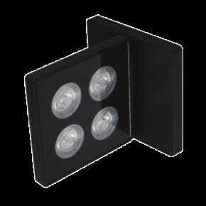 VK LED Φωτιστικό Τοίχου 12W COB Citizen IP20 Τετράγωνο