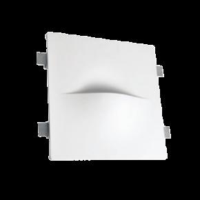 VK Φωτιστικό Τοίχου 40W VK09021 Γύψινο G9 Λευκό