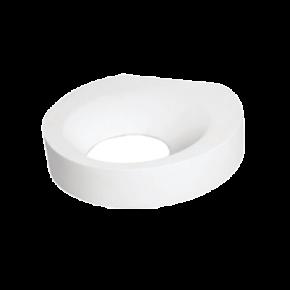 VK LED Φωτιστικό Τοίχου 5W VK09045 Γύψινο Λευκό