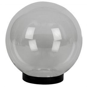 VK LED Κήπου 60W E27 IP54 Μπάλα Διάφανη Γρίφα & Ντουί D300