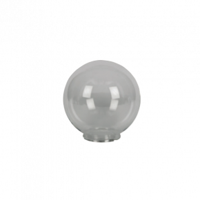 VK LED Κήπου 60W E27 IP54 Μπάλα Διάφανη D200