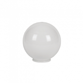 VK LED Κήπου 60W E27 IP54 Μπάλα Γαλακτερή D200