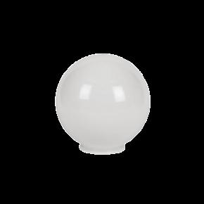 VK LED Κήπου 60W E27 IP54 Μπάλα Γαλακτερή D400