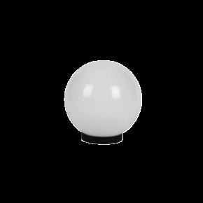 VK LED Κήπου 60W E27 IP54 Μπάλα Γαλακτερή Γρίφα & Ντουί D250