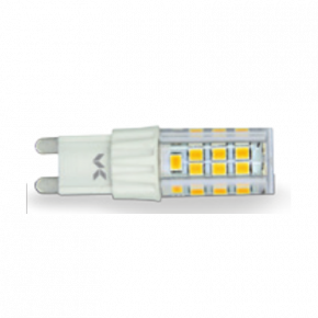 VK LED Λάμπα 5W G9 Ceramic & Plastic Dimmable