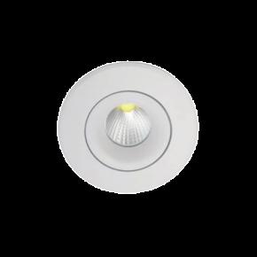 VK LED Spot 10W Στρογγυλό Χωνευτό Κινητό IP20