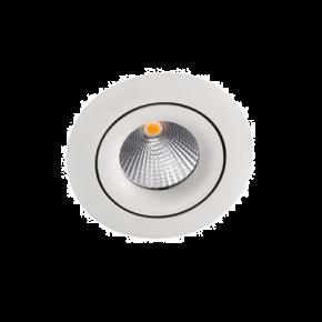 VK LED Spot 10W VK04124 Χωνευτό Στρογγυλό IP20