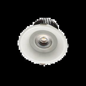 VK LED Spot 15W Downlight Στρογγυλό Χωνευτό IP65