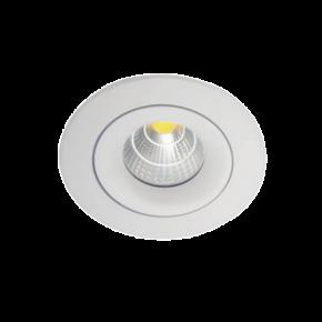 VK LED Spot 20W Στρογγυλό Χωνευτό Κινητό IP20