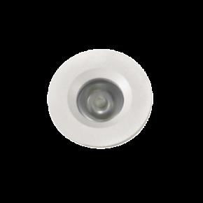 VK LED Spot 3W Στρογγυλό Mini Χωνευτό IP20