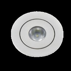 VK LED Spot 3W Στρογγυλό VK04126 Mini Χωνευτό IP20