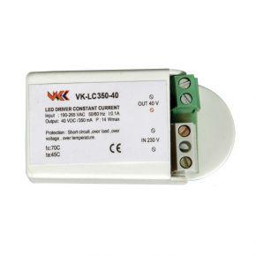 VK LED Τροφοδοτικό 1-3W 3-12V 350mA IP20