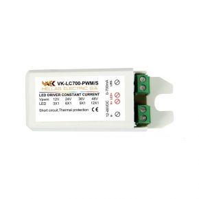 VK LED Τροφοδοτικό 12-48V 700mA Dimmable