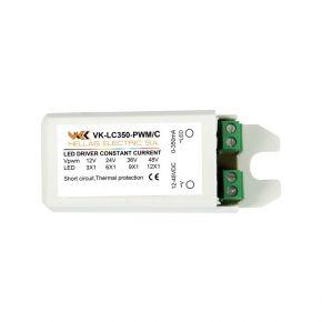 VK LED Τροφοδοτικό 12-48V 350mA Dimmable IP20